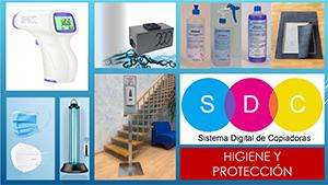 Epis de higiene y protección contra el COVID- 19
